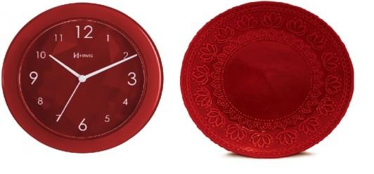 Relógio X Prato